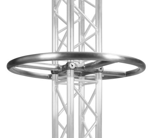 Tower Ring silber Anbringung zwischen zwei Traversen 4 Punkt Traverse LITECRAFT TRUSS LT34