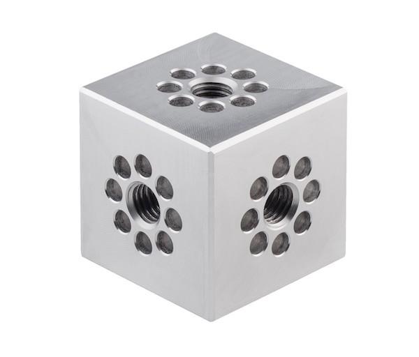 Universalwuerfel Cube silber 1 Punkt Traverse Pipe LITECRAFT TRUSS LT31